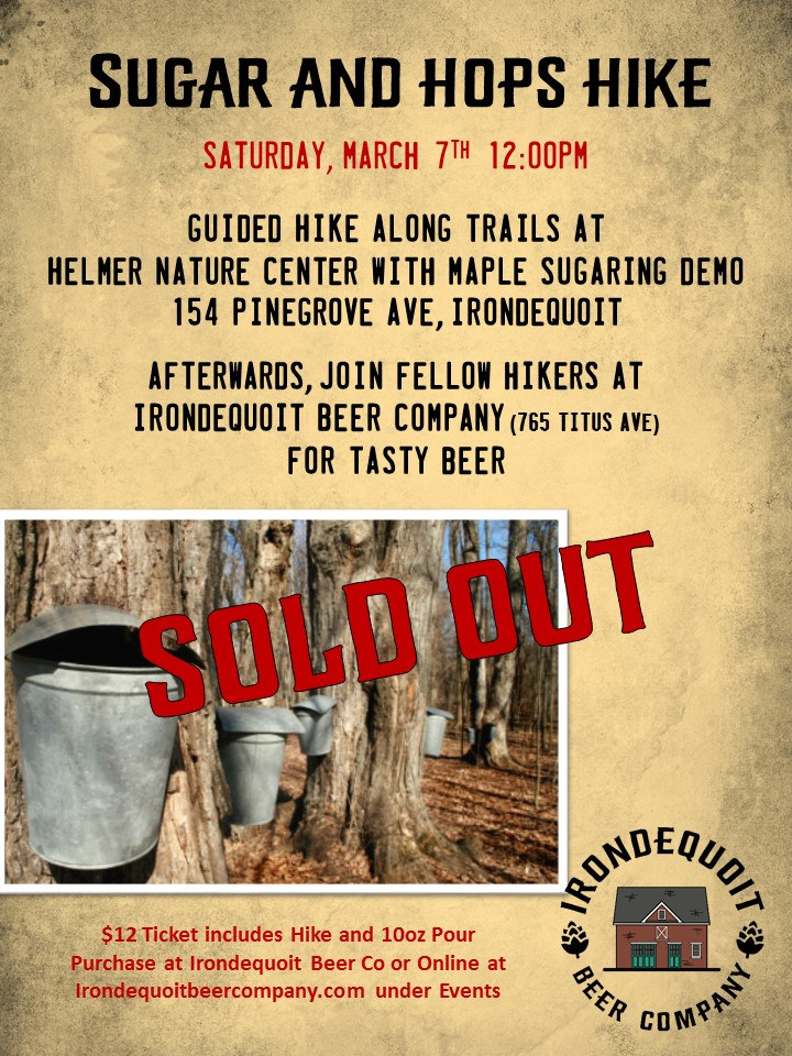 SOLD OUT sugar and hops hike